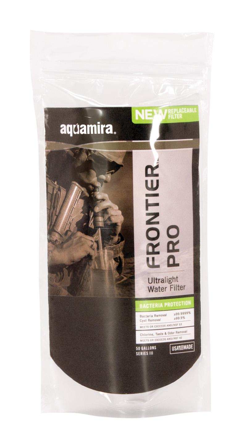 携帯 ろ過 浄水器 フロンティアプロ